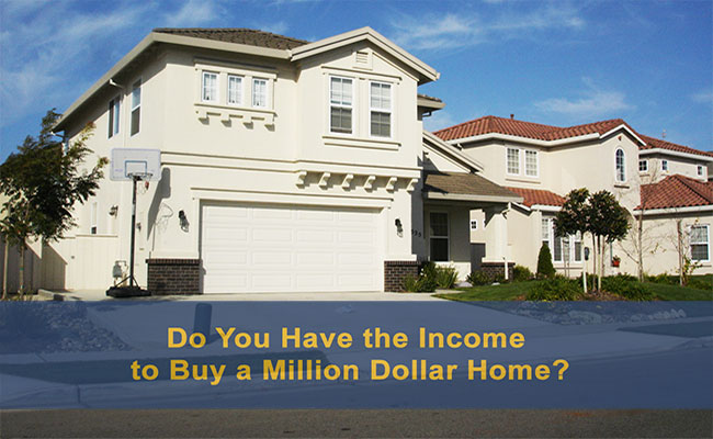 income to buy one million