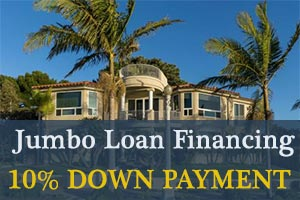 10% down jumbo mortgage