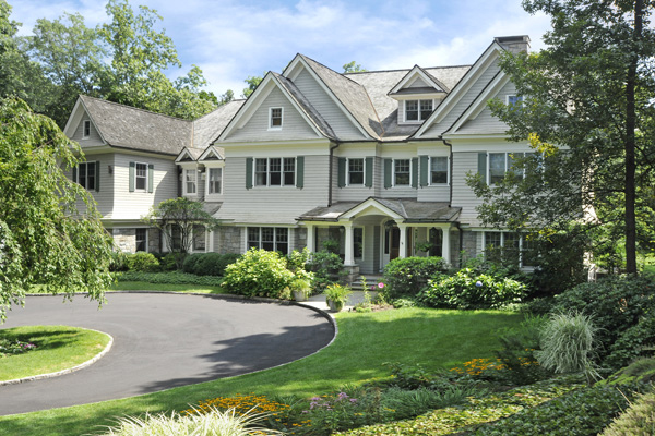 architect style home in Greenwich CT